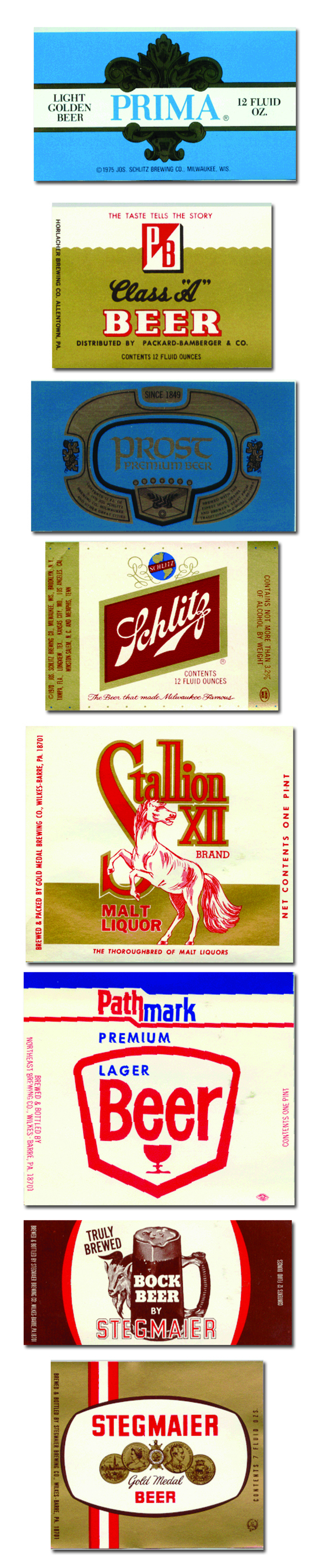 American Beer Labels